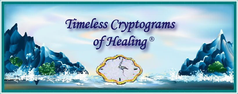 Timeless Cryptograms of Healing® Certification Program