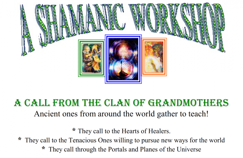 A Call from the Clan of Grandmothers – October 12-16, 2018
