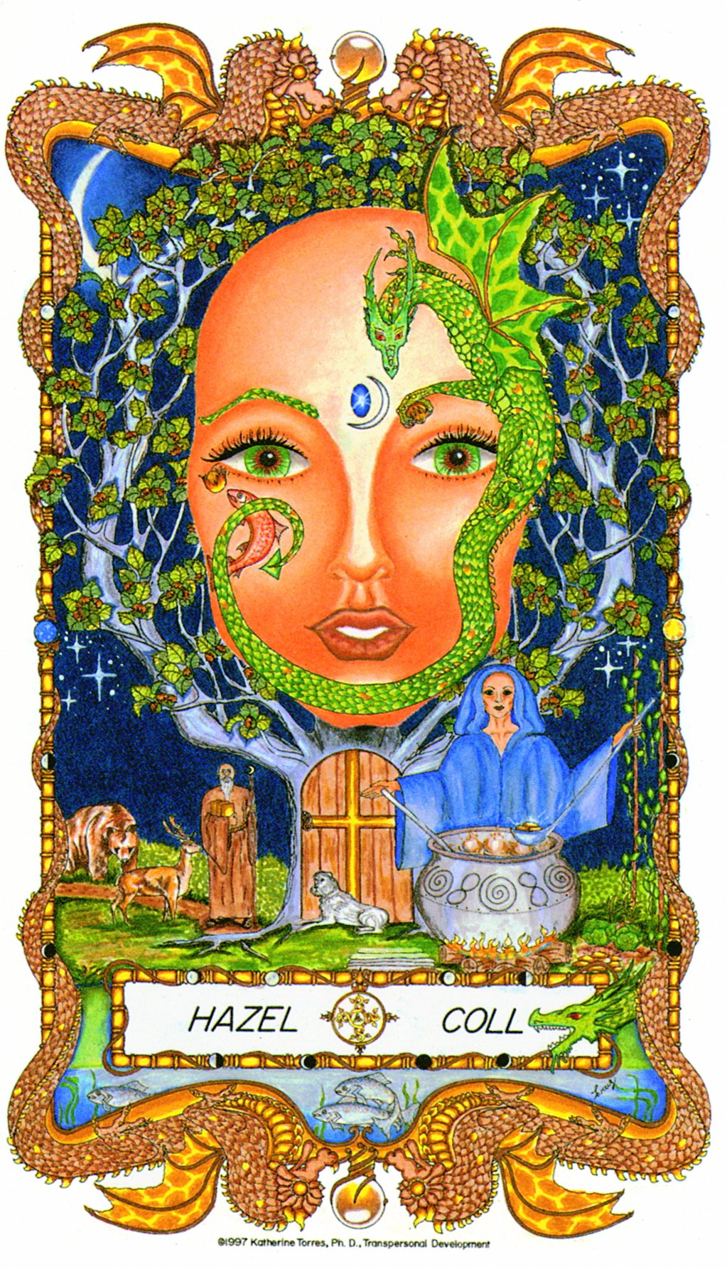 Moon Mother Musings – Hazel & Grapevine:  The Dancing Sisters of Faith, Wholeness, and Abundance!